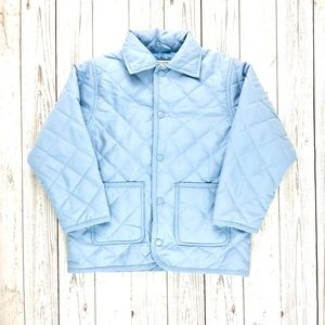 Tina Toole blue lightweight quilted jacket